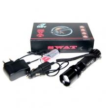 фонарик+аккумулятор+зарядка от сети+авто NGY-911