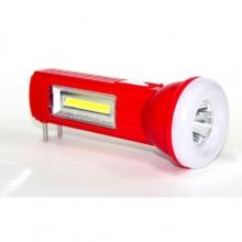 фонарик+3 режима+аккумулятор+солнечная зарядка SL-1806
