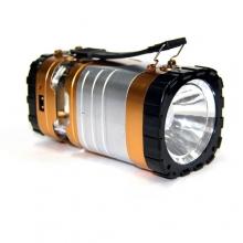 фонарик+3 режима+аккумулятор+солнечная зарядка YD-3587