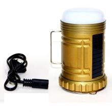 фонарик+3 режима+аккумулятор+солнечная зарядка YJ-6816