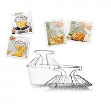Складная решетка для приготовления еды. Shef Basket