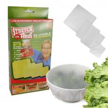 Универсальные силиконовые натяжные крышки для посуды STRETCH AND Fresh