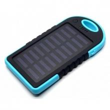 Зарядка портативная Power Bank+2USB+солнечная батарея+фонарик CL01 8000 mAh