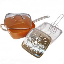 Сковорода сотейник Copper Pan