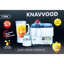 Многофункциональный кухонный комбайн Kenwood 176N 4в1, соковыжималка, блендер, гриндер измельчитель