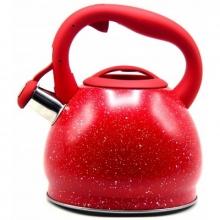 Чайник со свистком из нержавеющей стали, объем 3.0л, BEKKER S-711