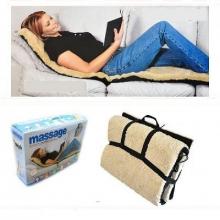 Массажный коврик матрас массажер с мехом Massager