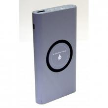 Зарядка портативная Power Bank+беспроводная зарядка Maker 10000 mAh