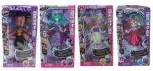Набор 4 куклы Монстр Хай 66-E2