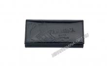 Кошелёк nf-9281-p-black Лакированная кожа