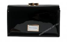 Кошелёк nf-9282-030-black Лакированная кожа