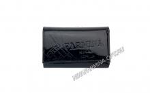 Кошелёк nf-9282-p-black Лакированная кожа