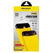 Зарядка портативная Power Bank 10000 mAh Awei P68K