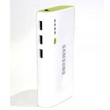 зарядка портативная Power Bank+3USB+фонарик SAMSUNG 30800 mAh