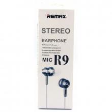 Наушники Remax+микрофон R9