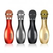 Беспроводной bluetooth-микрофон для караоке 3 в 1 портативный.