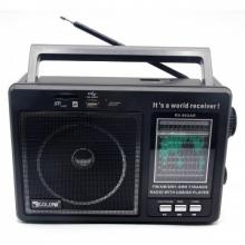 радиоприемник GOLON+USB+SD+аккумулятор