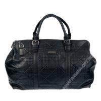 Дорожная сумка кожаная xl8600-black